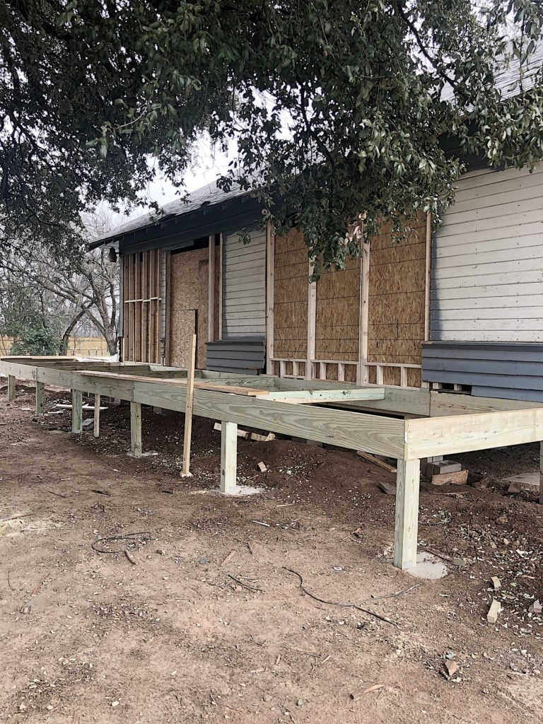 waco fixer upper side porch