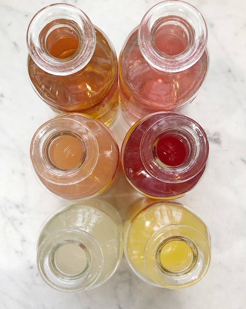 Girls Night Out Party Simple Fruit Syrups