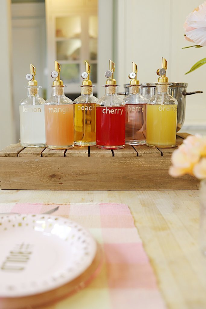 Girls Night Out Party Simple Syrup