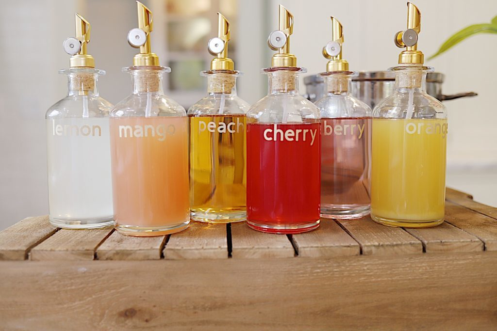 Girls Night Out Party Simple Syrups