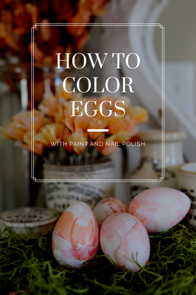 How to Color Easter Eggs Pinterest