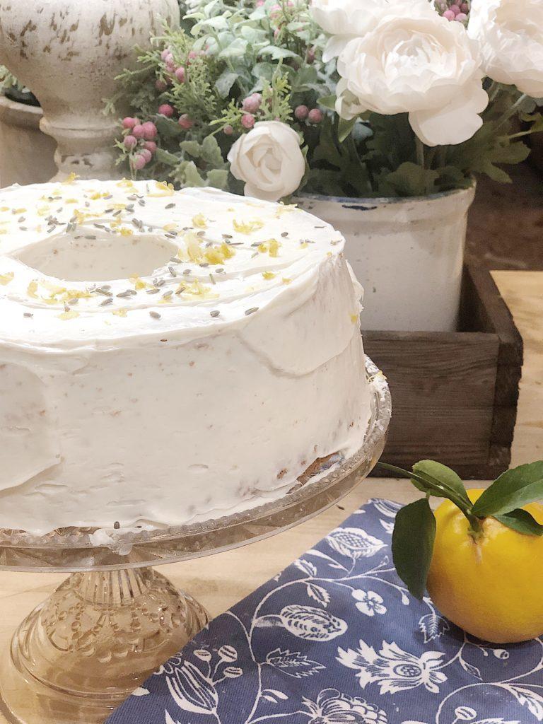 lemon lavender cake 2