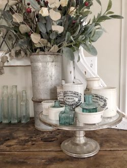 vintage-glass-cake-stands-with-advertising-pots-768x1024