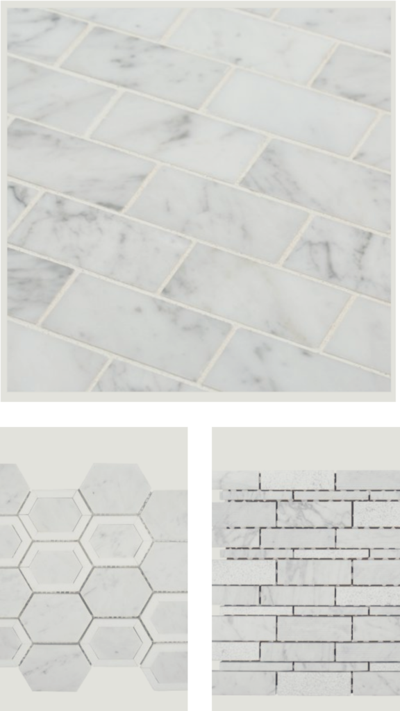 Choosing master bathroom tile 1