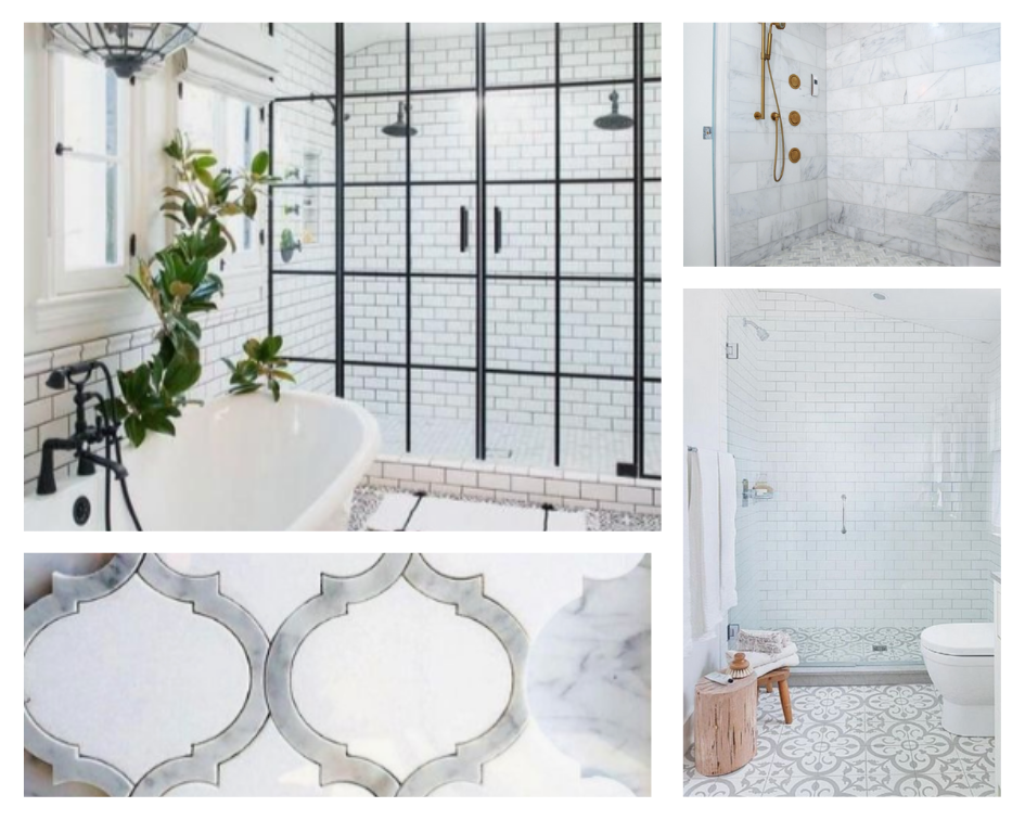 Choosing master bathroom tile