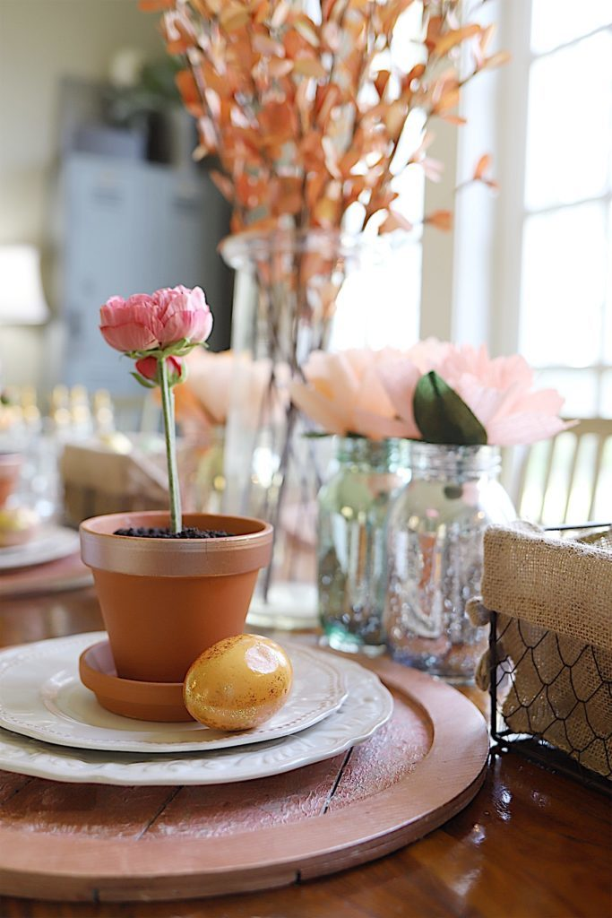Easter Table Decor brunch