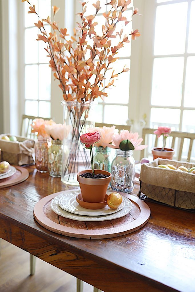 Easter Table Decor for spring