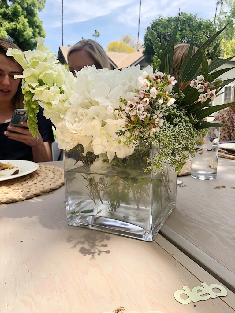 How to Plan a Bridal Shower centerpieces