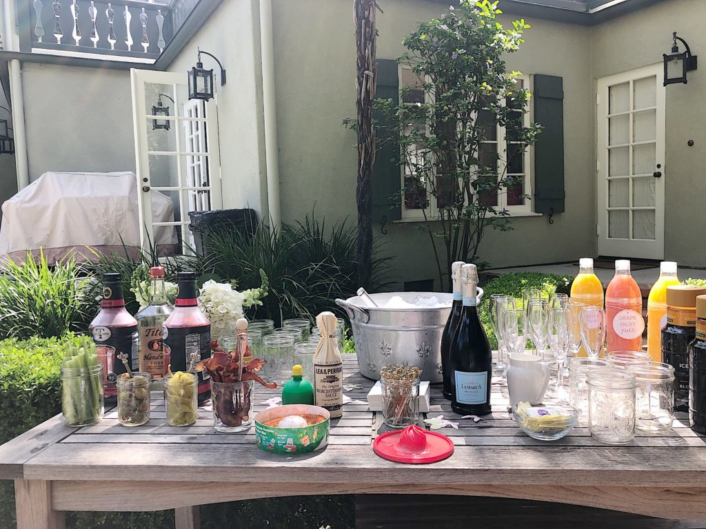 How to Plan a Bridal Shower drink bar