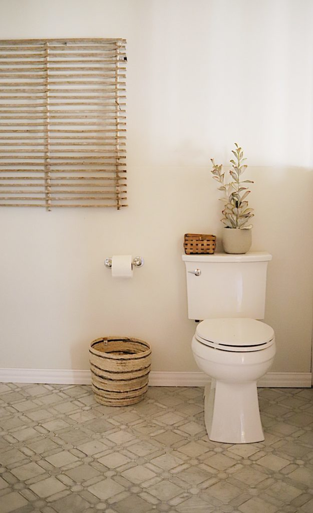 Master Bathroom Reveal accessories
