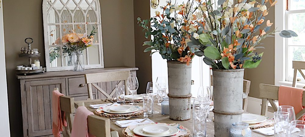 Spring Tablescapes Ideas