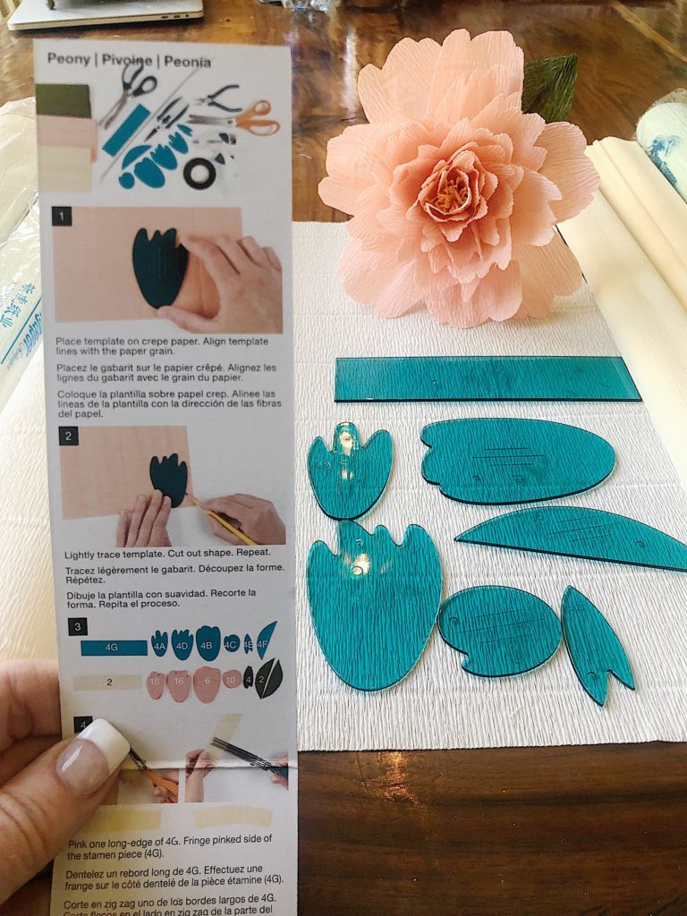 how to make paper flower peonies 2