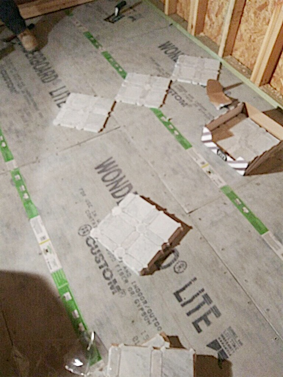 how to install tile 5