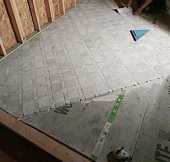 how to install tile 7