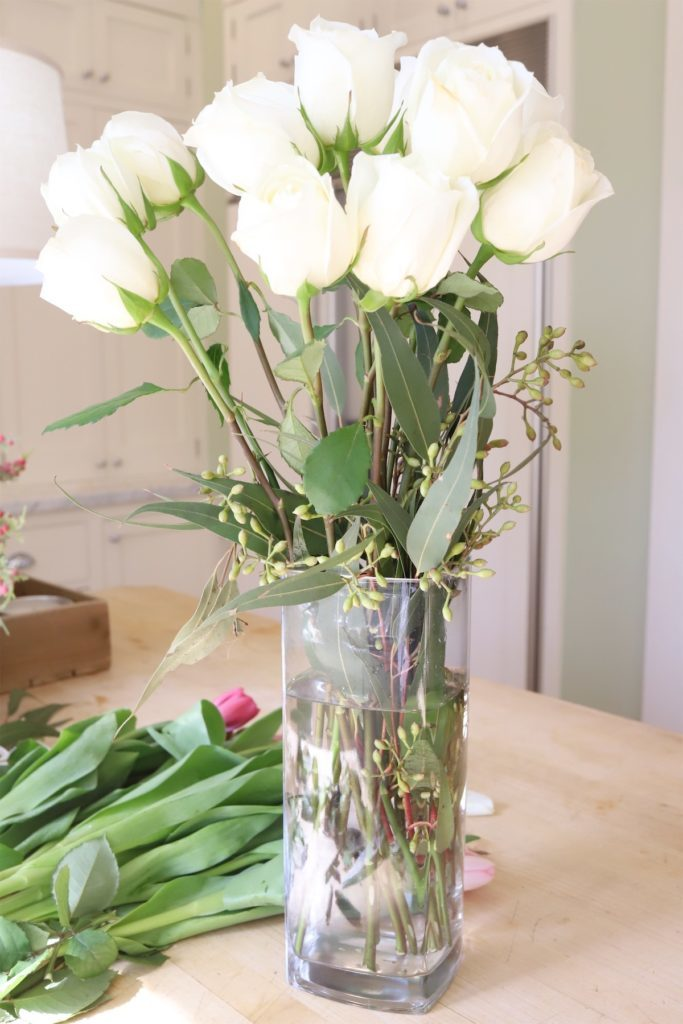how to make a floral arrangement 8