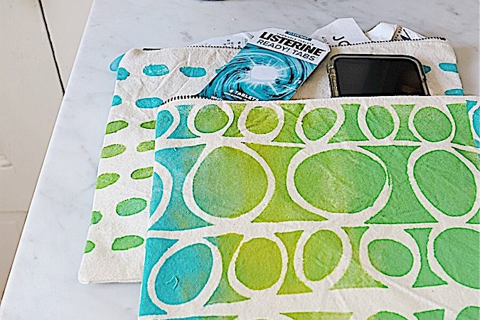 Painted Canvas Bags DIY