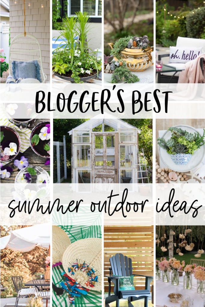 Blogger's best summer outdoor ideas