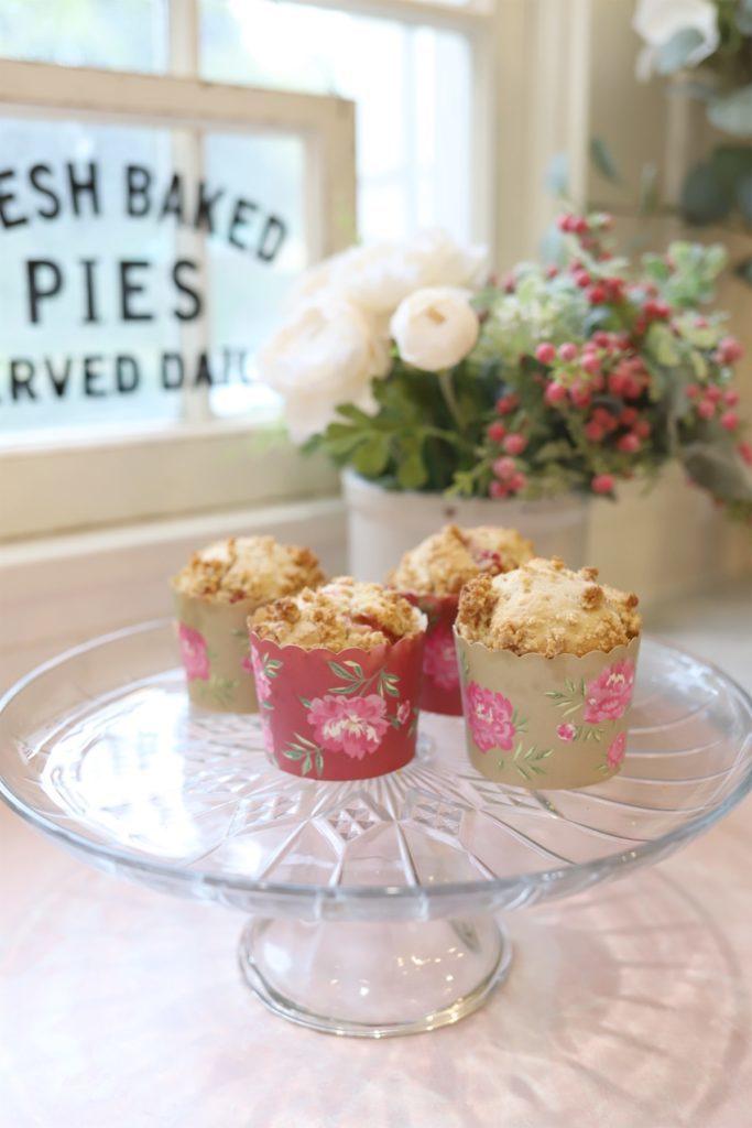 Fresh Strawberry Crumble Muffin Recipe