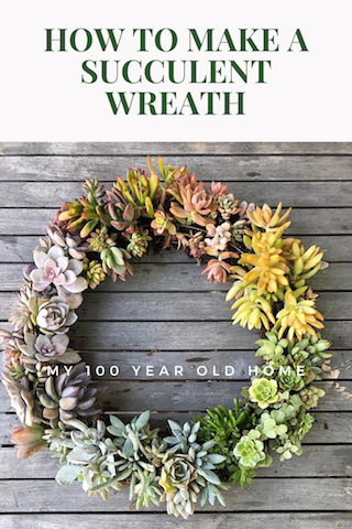 How to Make a Succulent Wreath (1)