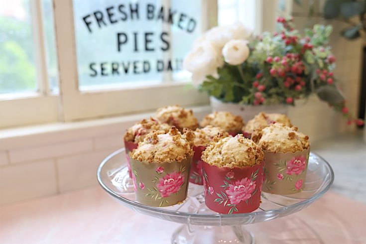 Strawberry Crumble Muffin Recipe