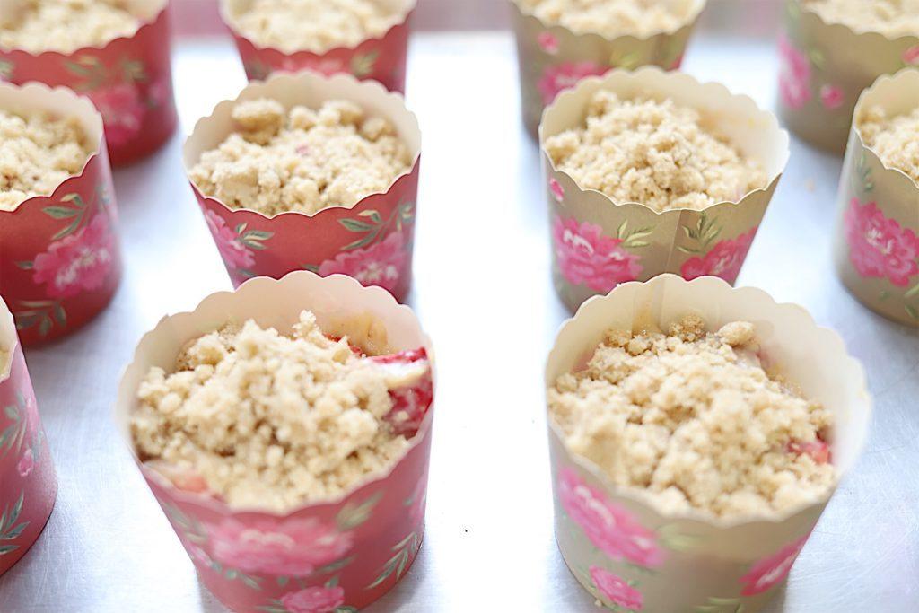 Strawberry Crumble Muffin Recipe 1