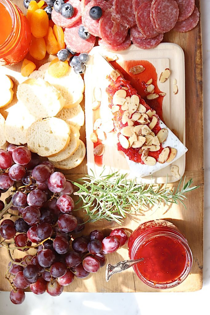 charcuterie board example