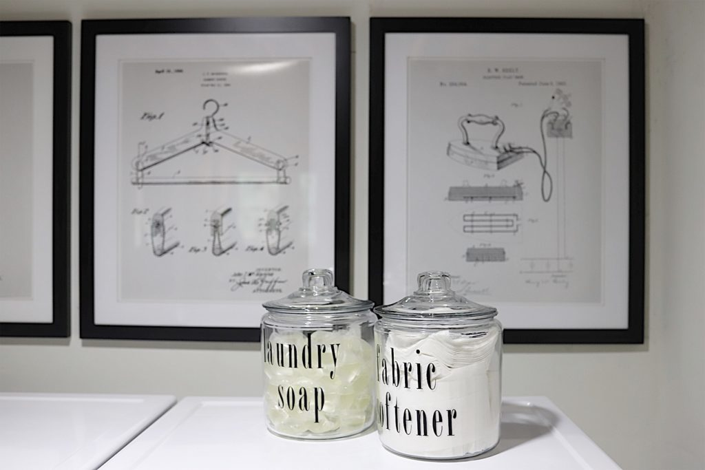 patent prints for laundry room
