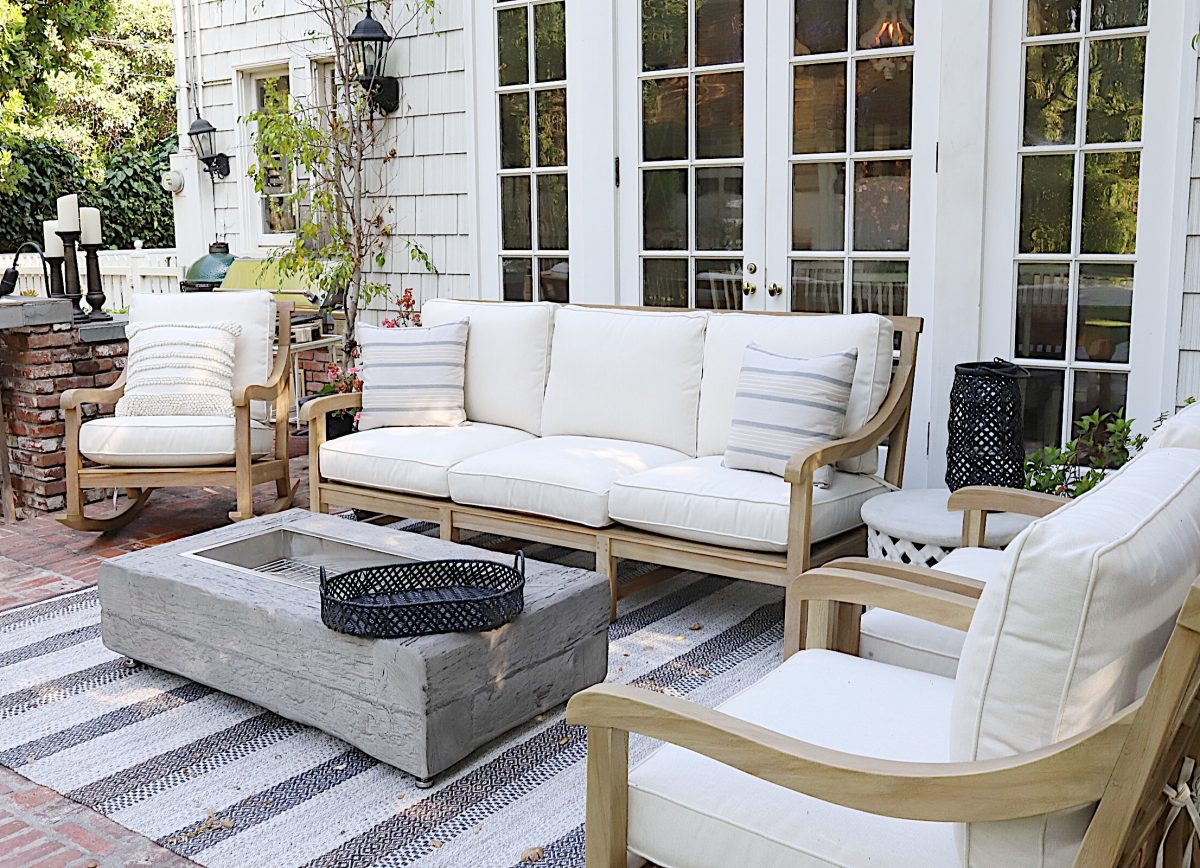 We Found New Outdoor Patio Furniture! - MY 100 YEAR OLD HOME