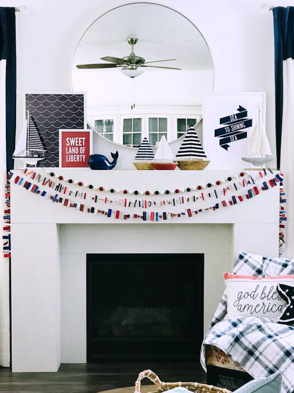 Ticker Tape Fourth of July Garland © Tauni Everett Low Res 2