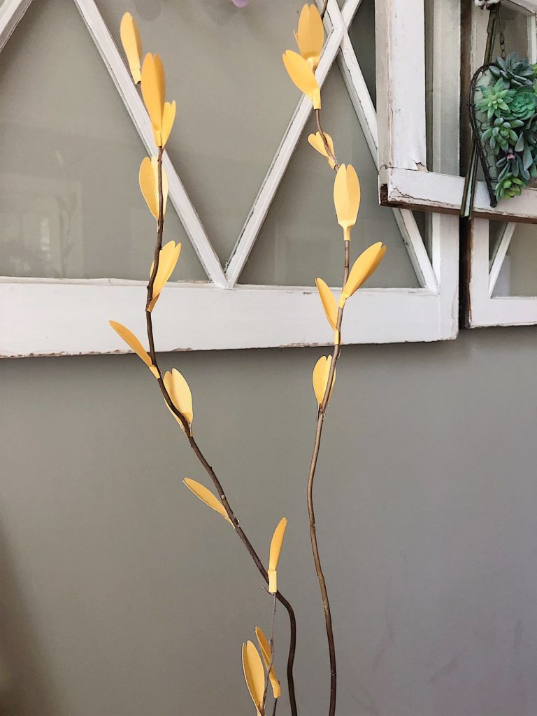 diy paper branches