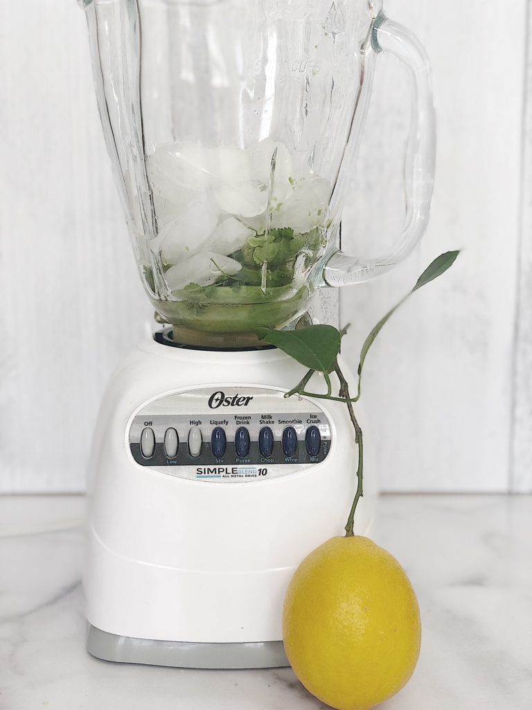 how to ake an avocado margarita recipe