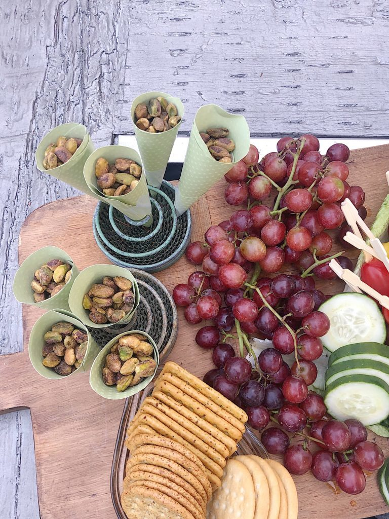 nuts on a charcuterie board