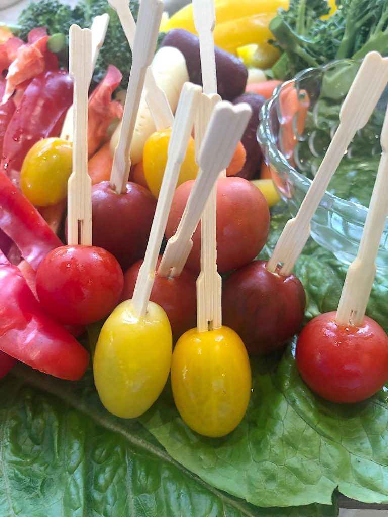 tomatoes on a stick
