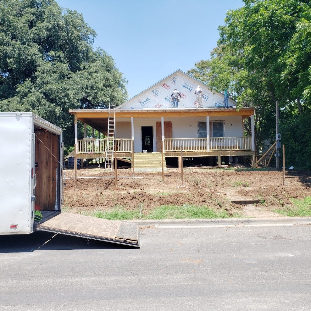 Waco Fixer Upper Home curb appeal project