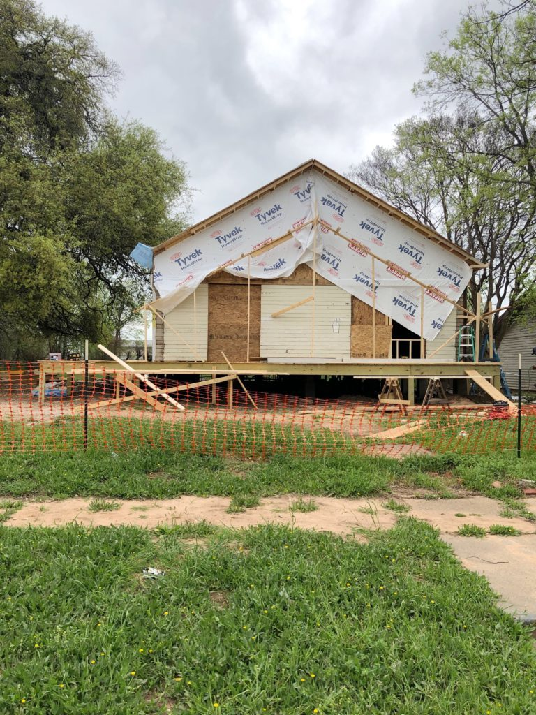 Waco Fixer Upper Home new roof