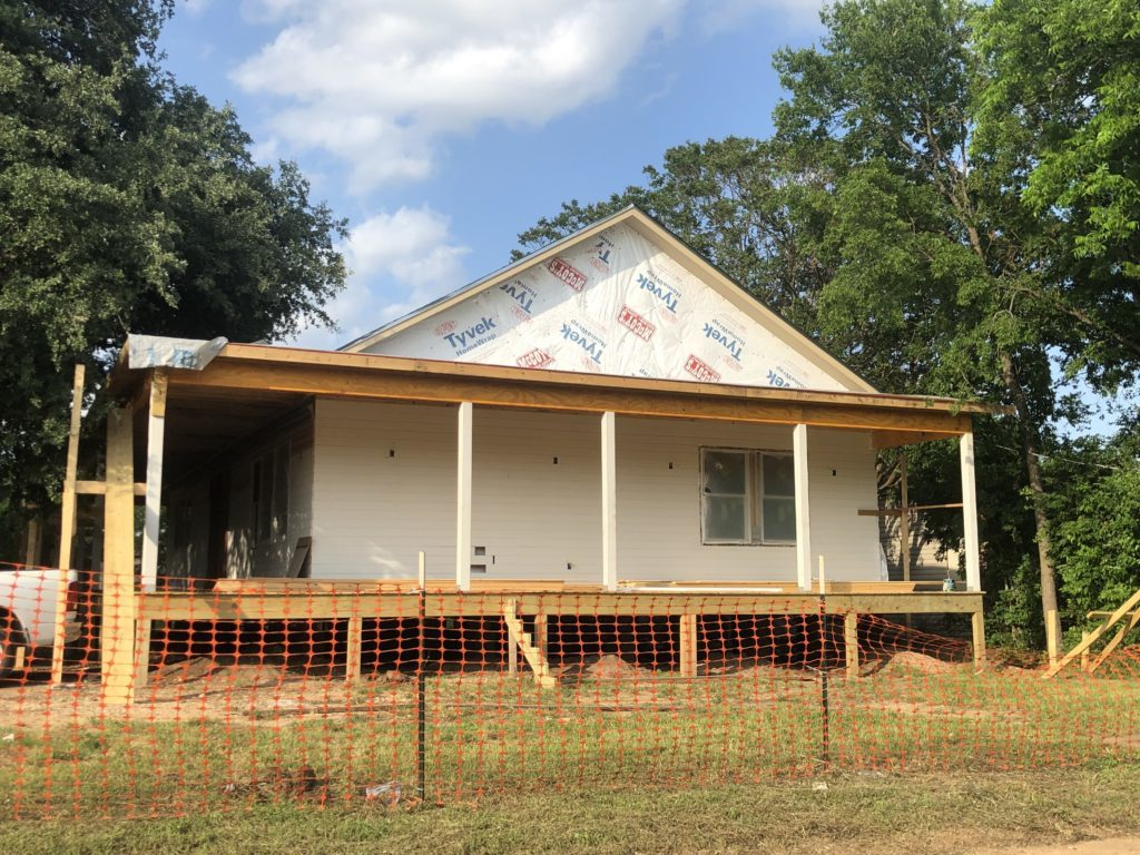 Waco Fixer Upper Home new wrap around porch