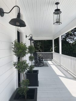 Waco Fixer Upper Home porch