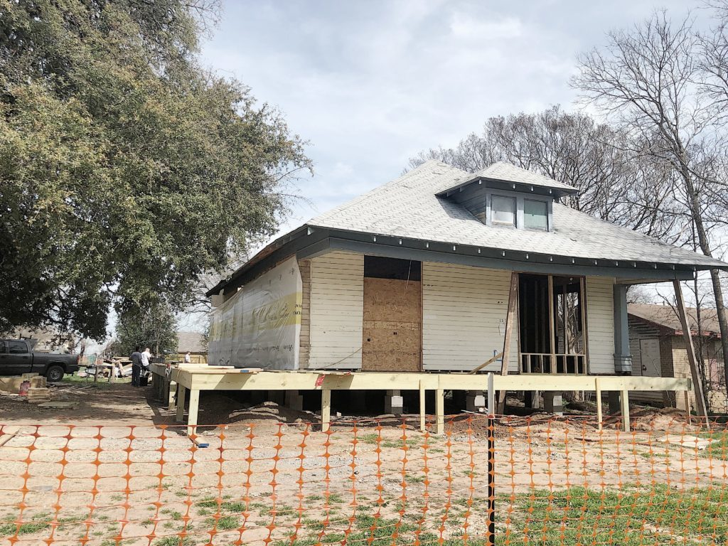 Waco Fixer Upper Home wrap around porch