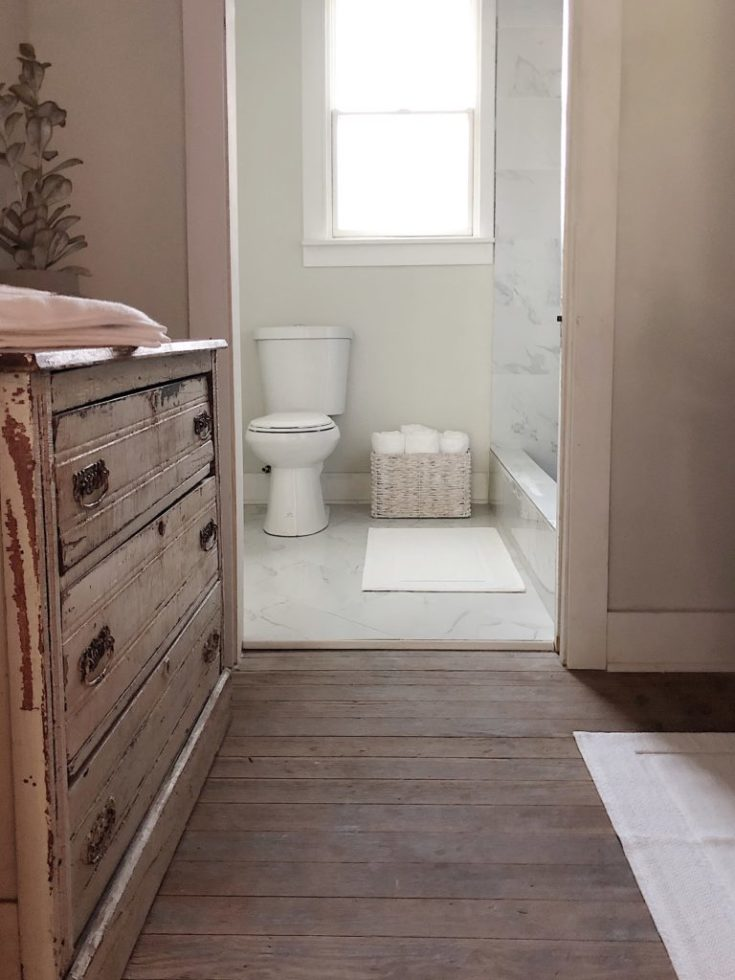 Choosing Affordable Flooring Tile for our Waco Bathroom Remodel