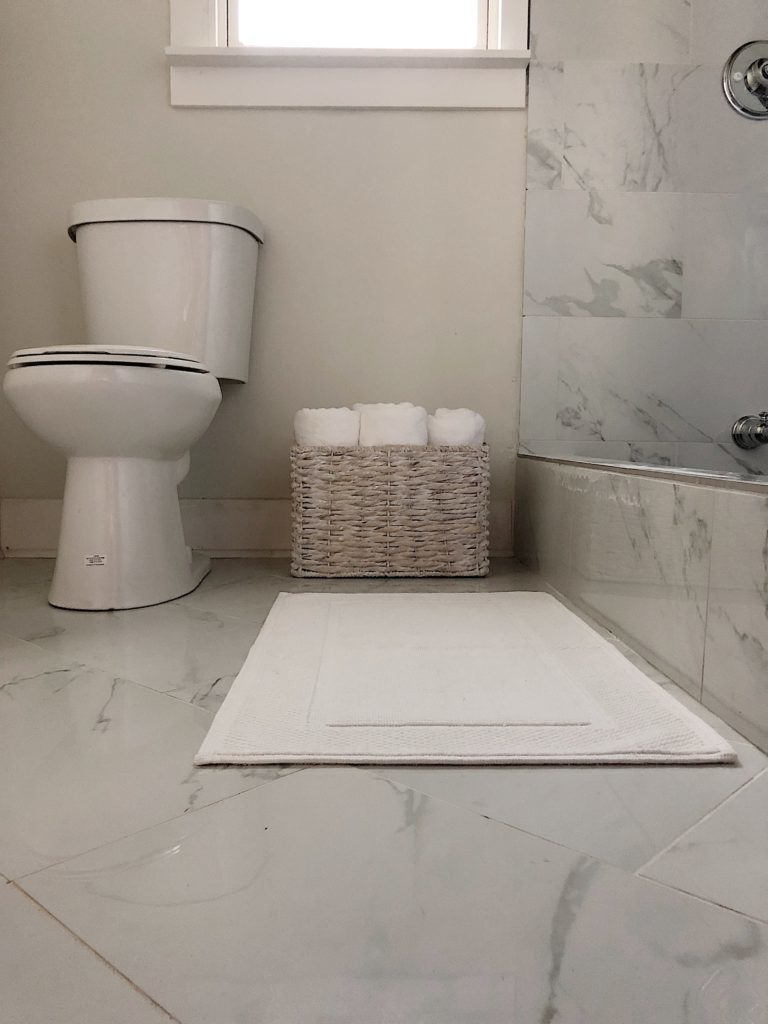 Waco Home Bath Remodel floor tile