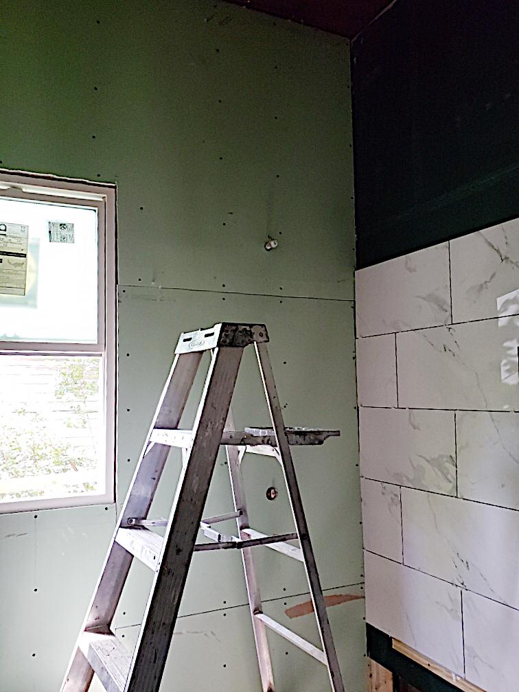 Waco Home Bath Remodel shower tile