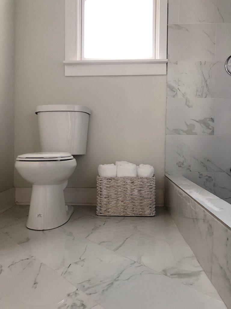 Choosing Affordable Flooring Tile For Our Waco Bathroom Remodel