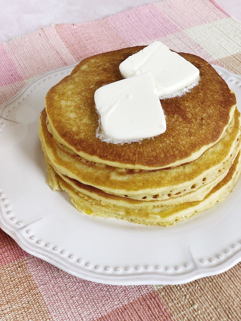 Orange Juice Pancakes