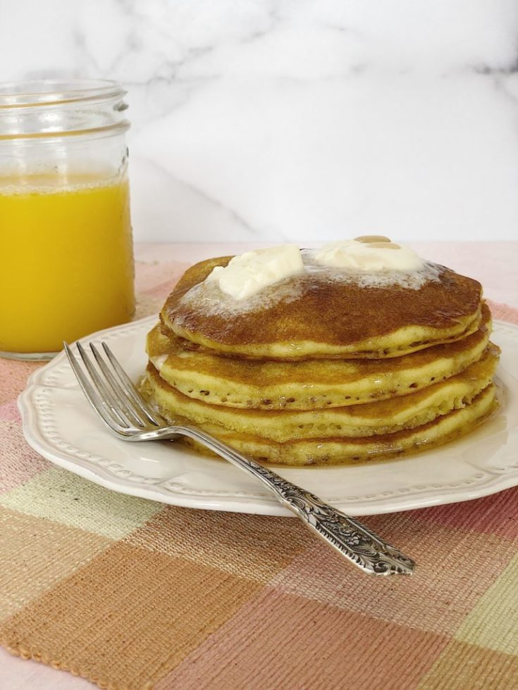 The best orange juice pancake recipe