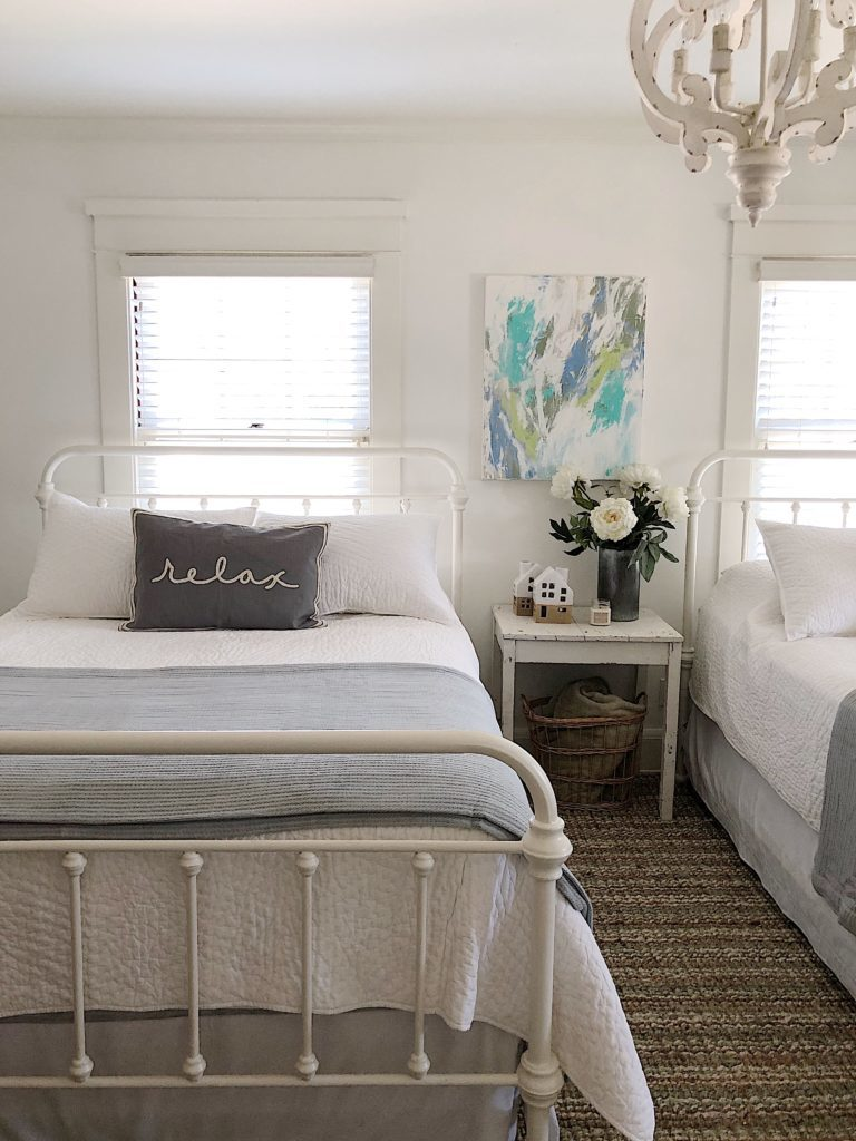 bedroom bedding makeover
