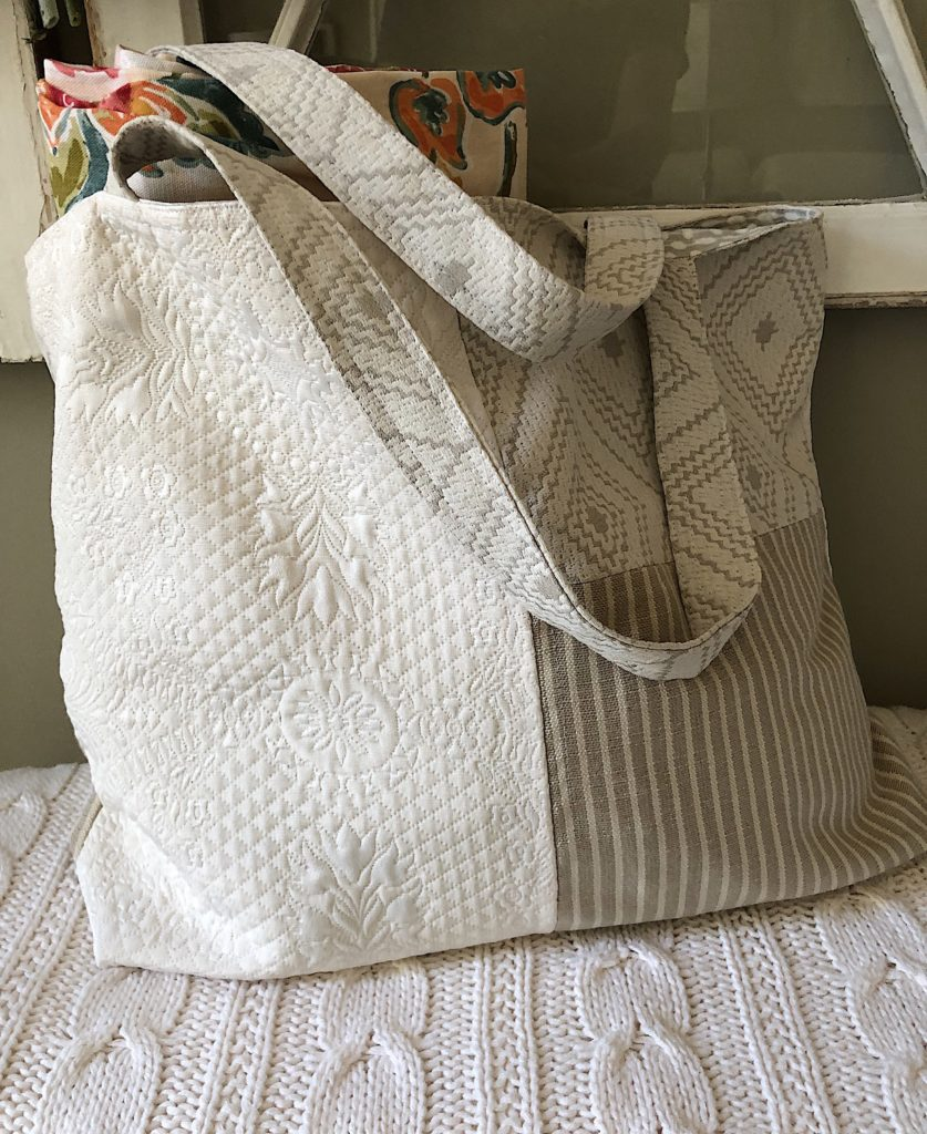 homemade fall tote bags
