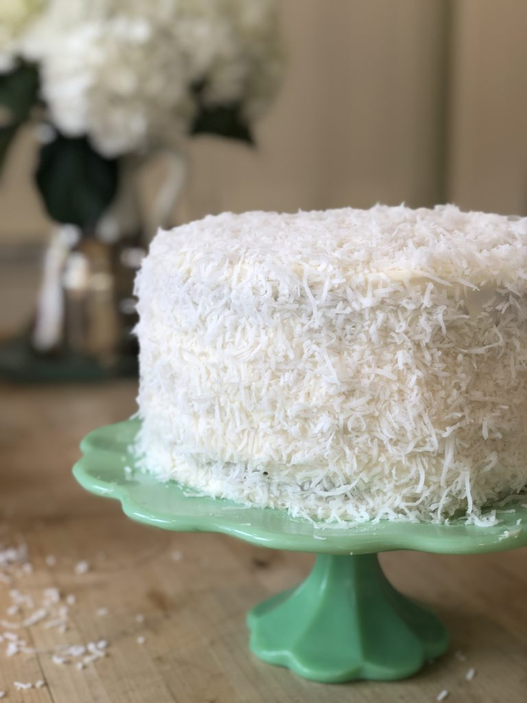 the best ever coconut cake
