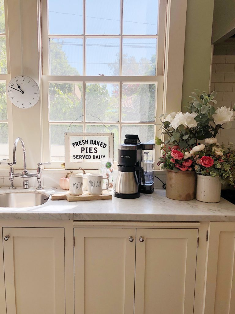 The Keurig K-Duo Plus coffee maker in my kitchen
