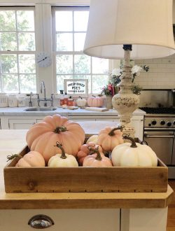add fall decor to your kitchen