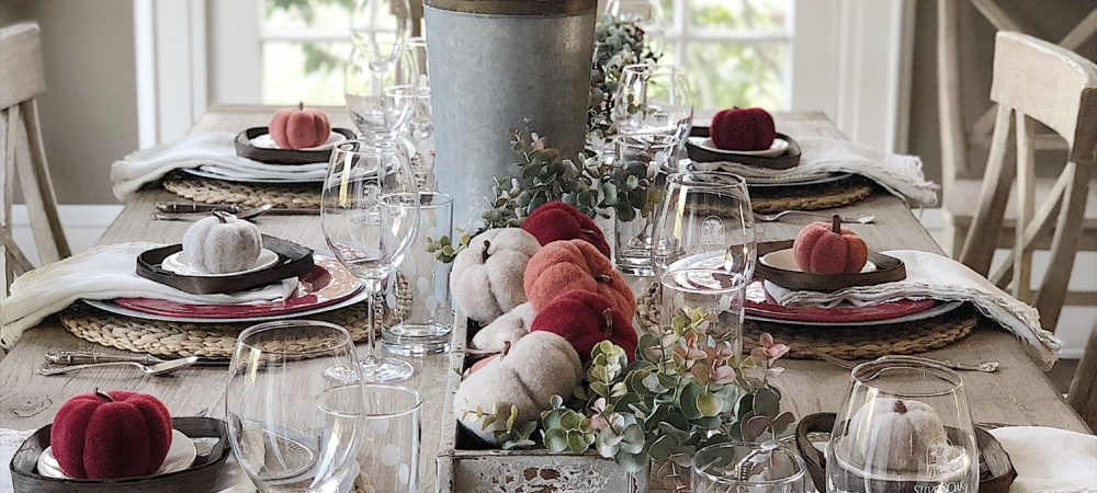 The Five Best Table Setting Tips for Fall Plus a Giveaway